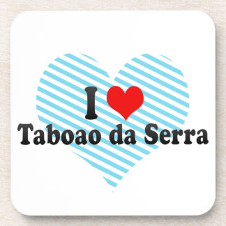 Amo Taboao DA Serra, el Brasil Posavasos De Bebidas