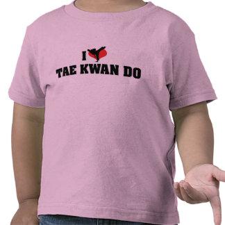 Amo Tae Kwan hago la camiseta