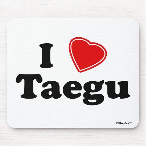 Amo Taegu Alfombrilla De Ratones