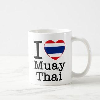 Amo tailandés de Muay Taza De Café