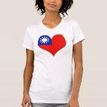 Amo Taiwán Camiseta
