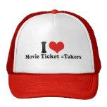 Amo =Takers del boleto de la película Gorras
