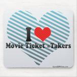 Amo =Takers del boleto de la película Alfombrilla De Raton