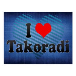 Amo Takoradi, Ghana Tarjetas Postales