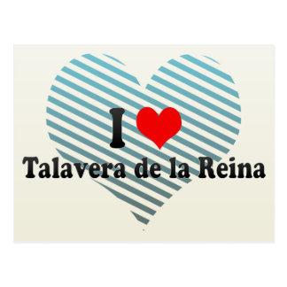 Amo Talavera de la Reina, España Tarjetas Postales