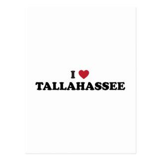 Amo Tallahassee la Florida Postales