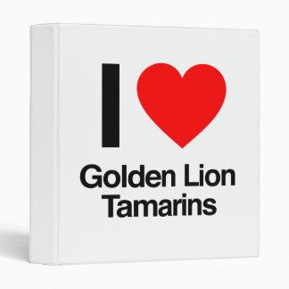 amo tamarins de oro del león