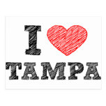 Amo Tampa Tarjeta Postal