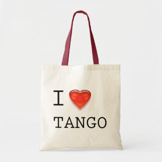 Amo tango bolsa tela barata