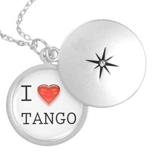 Amo tango collar personalizado