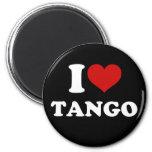 Amo tango imán para frigorifico