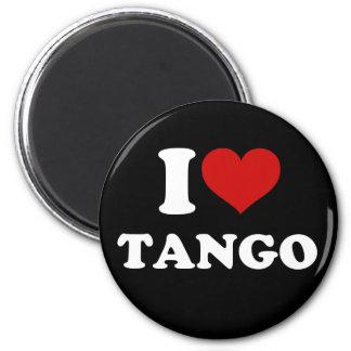 Amo tango imán redondo 5 cm