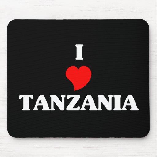 Amo Tanzania Tapetes De Ratón