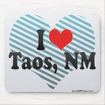 Amo Taos, nanómetro Tapete De Ratón