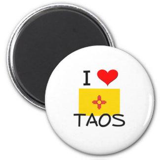 Amo Taos New México Imán De Frigorífico