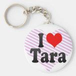 Amo Tara Llaveros Personalizados