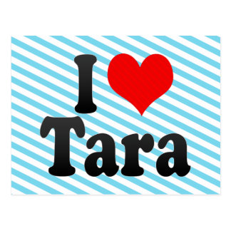 Amo Tara Tarjeta Postal