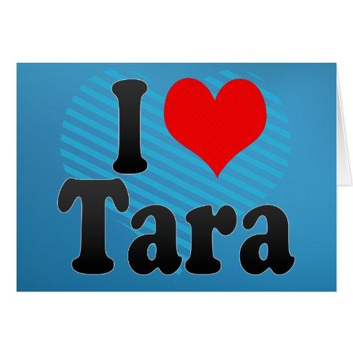 Amo Tara Tarjeton