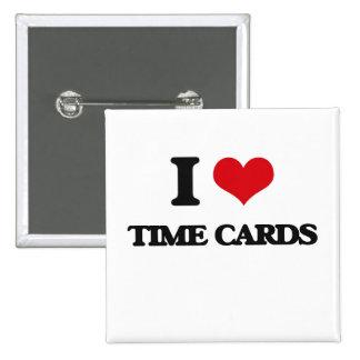 Amo tarjetas de fichar chapa cuadrada 5 cm