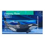 Amo tarjetas de visita de las orcas