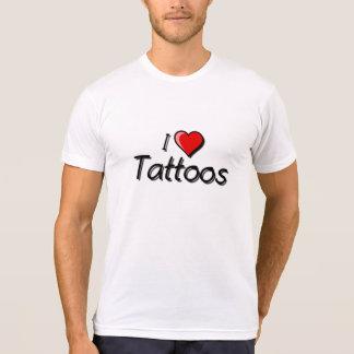 Amo tatuajes camisetas