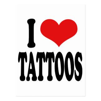 Amo tatuajes postales