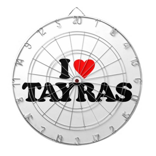 AMO TAYRAS TABLERO DE DARDOS