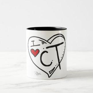 """Amo taza de Connecticut"""
