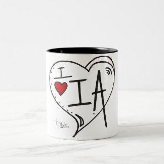 """""""Amo taza de Iowa"""""""