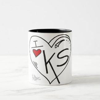 """""""Amo taza de Kansas"""""""