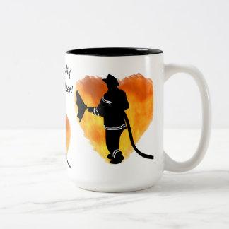 """""""Amo taza de mi bombero"""""""