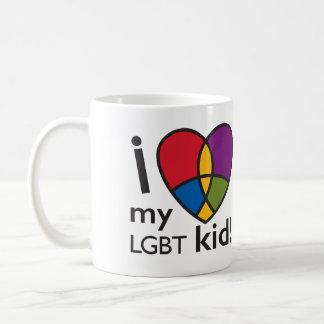 """""""AMO taza de mi niño de LGBT"""""""