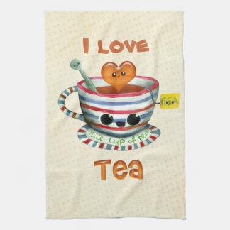 Amo té toalla de mano
