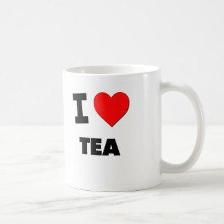 Amo té tazas de café