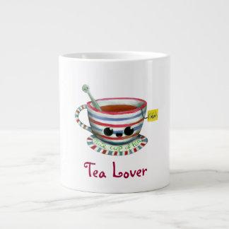 Amo té taza extra grande
