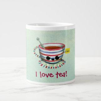 Amo té tazas extra grande