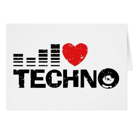 Amo Techno Felicitaciones