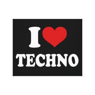 Amo Techno Impresion En Lona