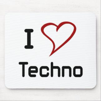 Amo Techno Alfombrilla De Ratón