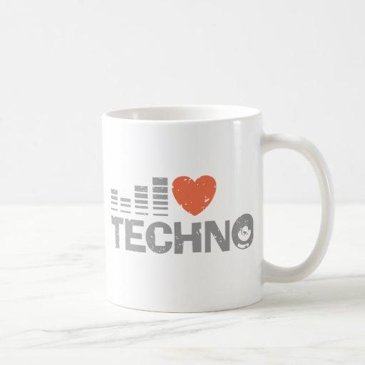 Amo Techno Tazas De Café