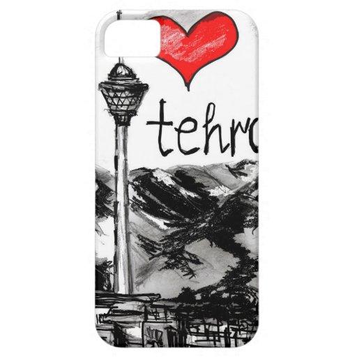 Amo Teherán iPhone 5 Cárcasa