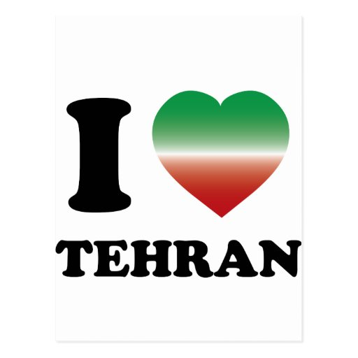 Amo Teherán Tarjetas Postales
