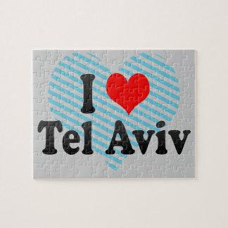 Amo Tel Aviv, Israel Rompecabezas Con Fotos