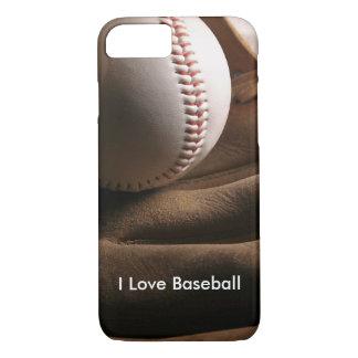 Amo tema del béisbol funda iPhone 7