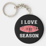 Amo temporada de baloncesto llavero