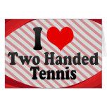 Amo tenis ambidextro tarjetón