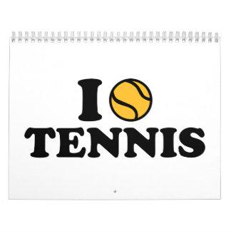 Amo tenis calendarios