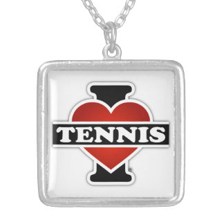 Amo tenis colgante cuadrado