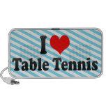 Amo tenis de mesa altavoz
