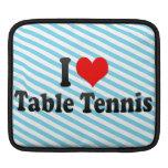 Amo tenis de mesa funda para iPads